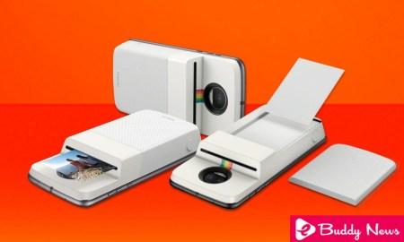 Motorola Introducing Moto Mod With Polaroid To Print Your Photo With Mobile ebuddynews