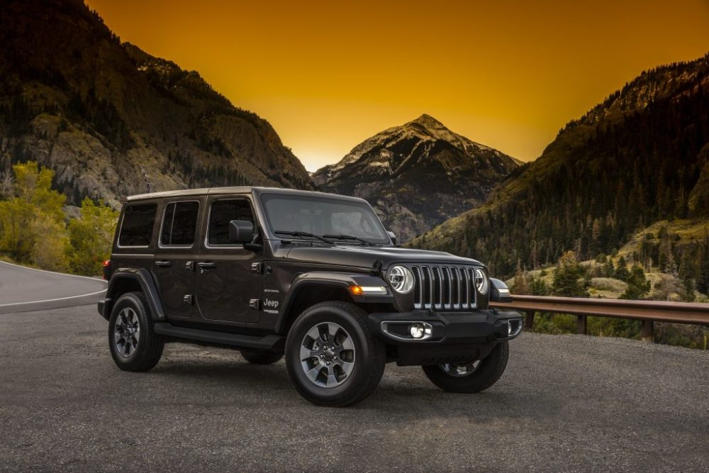 The First Images Of The New Jeep Wrangler 2018 Model Revealed ebuddynews