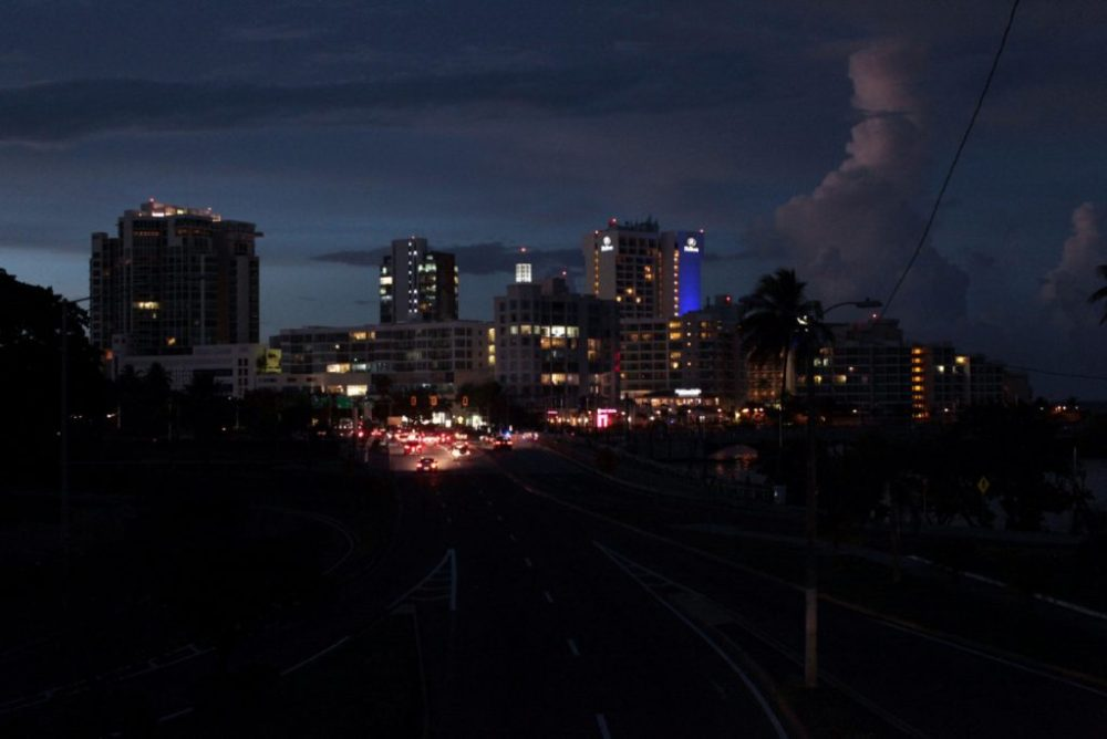 A Blackout Hits In Areas Of Venezuela Capital And The Neighboring States ebuddynews