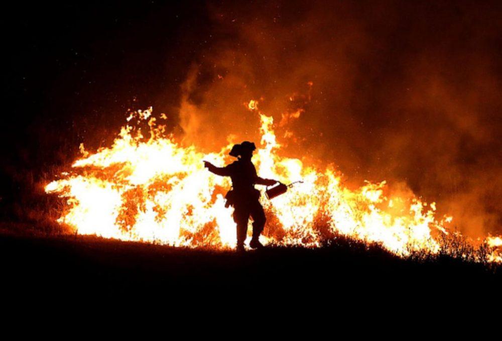 Firefighters Gain Ground Against Wildfire In California ebuddynews