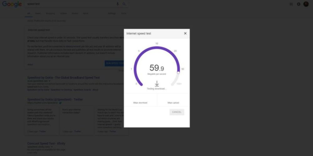 Now You Can Do Speed Test With Google Search ebuddynews