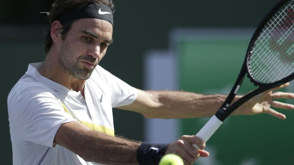 Roger Federer Reaches World Number One Indian Wells 16 ebuddynews