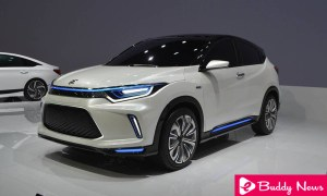 HR-V Electric New Honda Everus EV Concept Car Will Be Sold In China ebuddynews