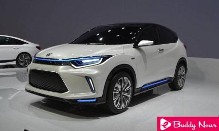HR-V Electric New Honda Everus EV Concept Car Will Be Sold In China ebuddynews