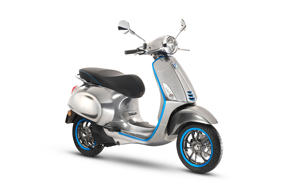 Vespa Elettrica Much Awaited Electric Scooter Arrives in 2019 - ebuddynews