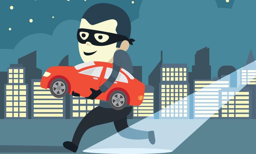 Thief Stealing a Car - eBuddy News
