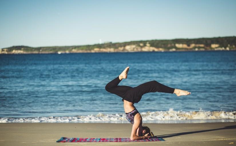 Taking Up Yoga