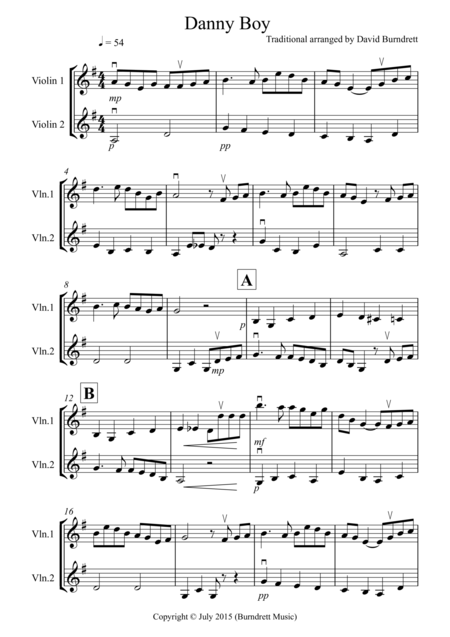 Beginner Violin And Cello Duets
