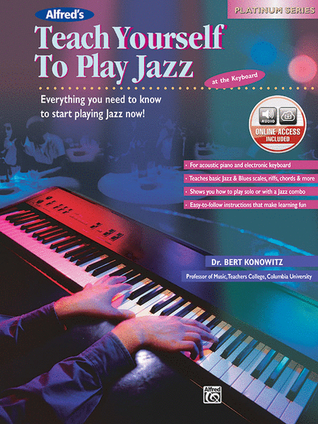 Alfred's Teach Yourself To Play Jazz At The Keyboard ...
