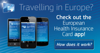 European Health Insurance Card app for your smartphone