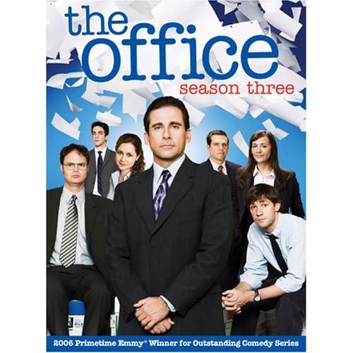 season three the office dvd