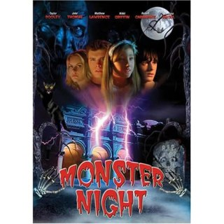 Monster Night Box Art
