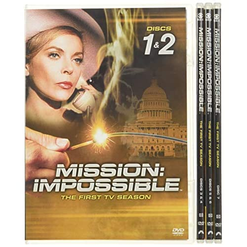 Mission Impossible - Season One Box Art