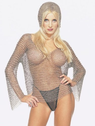 Halloween Chain Mail for that Special Hottie in Your life. And its available from Amazon.com! Or was.
