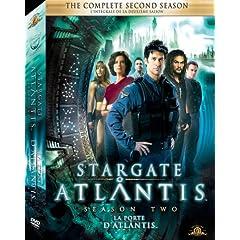 Stargate Atlantis The Complete Second Season Box Art