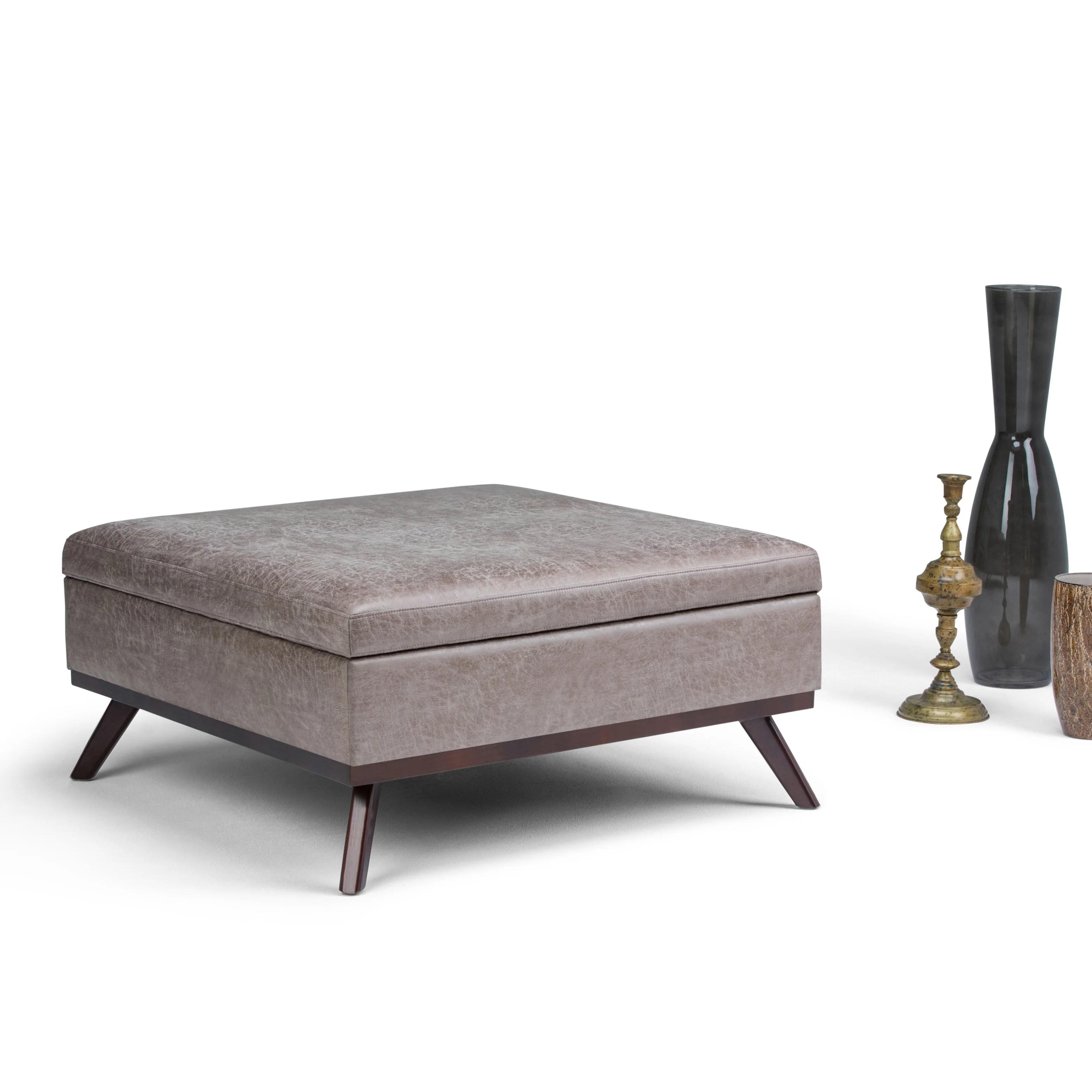 Large Storage Footstool Coffee Table