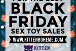 Kitten Boheme's 2016 Black Friday Sex Toy Sales and Deals Banner Ad