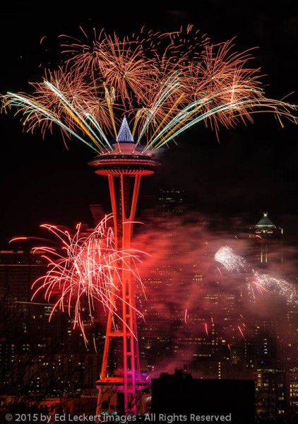 New Years Eve at the Space Needle | Ed Leckert Images