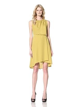 Vince Camuto Dresses Women's Sleeveless Dress (Golden Palm)