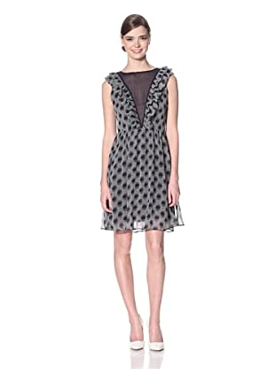 Eva Franco Women's Eleanor Dress Cyprus (Black/Grey)