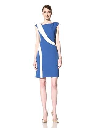 Chetta B Women's Swirl Dress (Cobalt/Ivory)