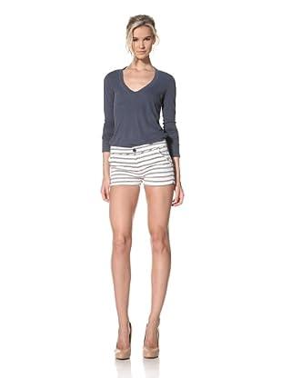 Trovata Women's Marquette Short (Navy/Multi Stripes)