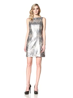 Muse Women's Sequined Sheath (Gold Multi)