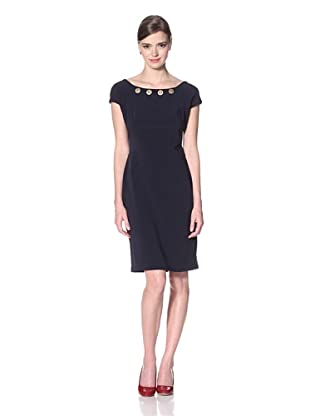 Eva Franco Women's Joan Dress Navy (Blue)
