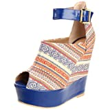 Steve Madden Kennyya Wedge Sandal