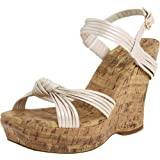 Jessica Simpson Brisa Strappy Cork Wedge