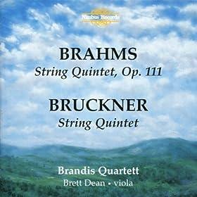 Brahms, Bruckner: String Quintets