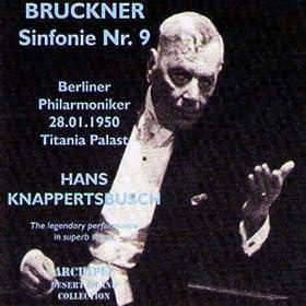 Bruckner: Sinfonie No. 9 (Titiana Palast 1950)