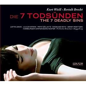 Weill: 7 Todsunden, Die (Bruckner-Ruggeberg) (1956)