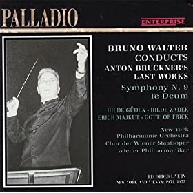 Bruckner: Symphony No. 9 in D Minor, Te Deum