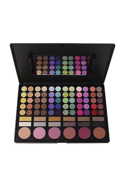 78 eyeshadow matte shimmer blush palette bh cosmetics coastal scents celia makeup