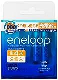 SANYO eneloop 充電器 単4形2個セット (単3形・単4形兼用) N-MDR0204S