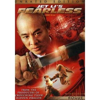 Jet Li's Fearless Box Art