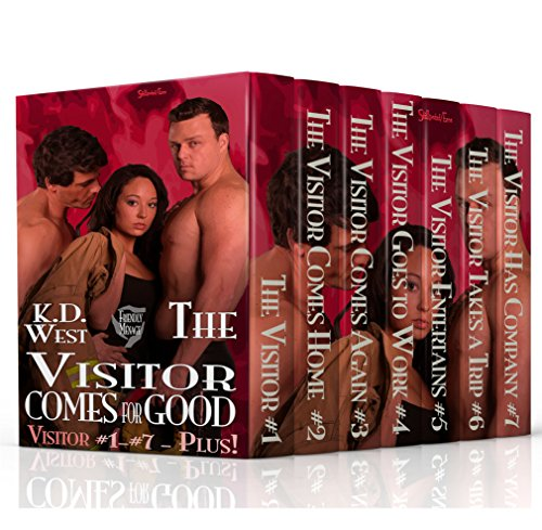 The Visitor Comes for Good: A Friendly MMF Ménage Tale (Friendly Menage Tales) K.D. West