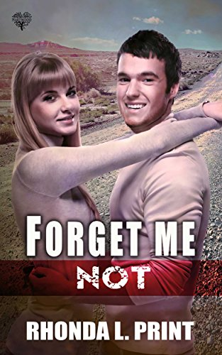 Forget Me Not Print, Rhonda