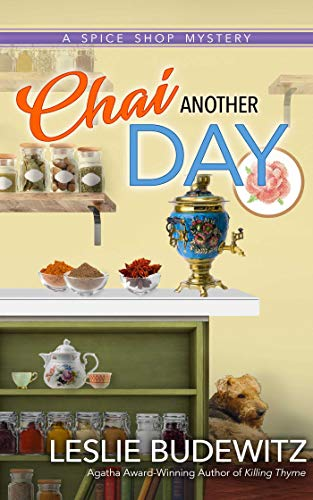 Chai Another Day (Spice Shop Mysteries)  Leslie Budewitz