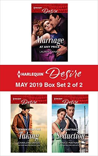 Harlequin Desire May 2019 - Box Set 2 of 2: An Anthology  Lauren Canan, Charlene Sands, Janice Maynard