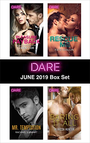 Harlequin Dare June 2019 Box Set Zara Cox, Rachael Stewart, Faye Avalon, Rebecca Hunter
