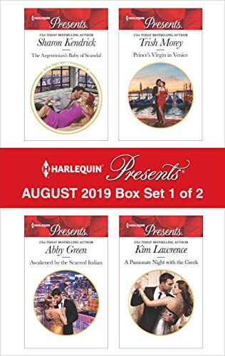 Harlequin Presents - August 2019 - Box Set 1 of 2 Sharon Kendrick, Abby Green, Trish Morey, Kim Lawrence