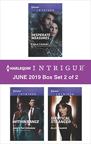 Harlequin Intrigue June 2019 - Box Set 2 of 2 Carla Cassidy, Janice Kay Johnson, Alice Sharpe