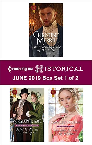 Harlequin Historical June 2019 - Box Set 1 of 2  Christine Merrill, Marguerite Kaye, Ann Lethbridge
