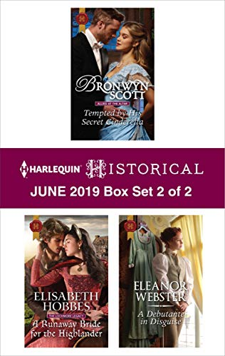Harlequin Historical June 2019 - Box Set 2 of 2   Bronwyn Scott, Elisabeth Hobbes, Eleanor Webster