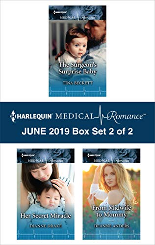 Harlequin Medical Romance June 2019 - Box Set 2 of 2  Tina Beckett, Dianne Drake, Deanne Anders