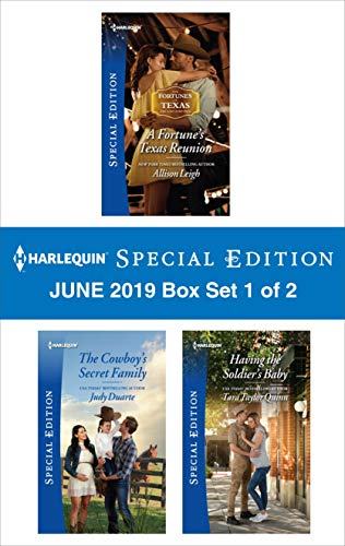 Harlequin Special Edition June 2019 - Box Set 1 of 2 (The Fortunes of Texas: The Lost Fortunes)  Allison Leigh, Judy Duarte, Tara Taylor Quinn
