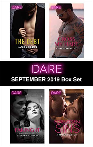 Harlequin Dare September 2019 Box Set Jackie Ashenden, Stefanie London, Clare Connelly, J. Margot Critch