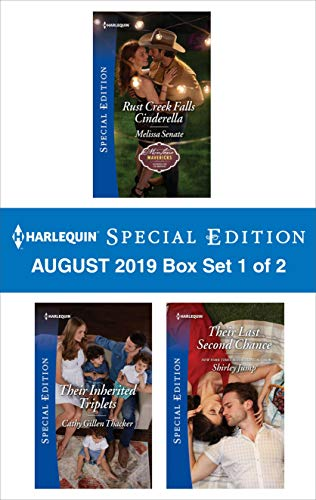 Harlequin Special Edition August 2019 - Box Set 1 of 2  Melissa Senate, Cathy Gillen Thacker, Shirley Jump